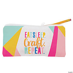 Crafty Canvas Pencil Case