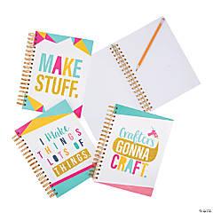 Crafty Spiral Notebooks