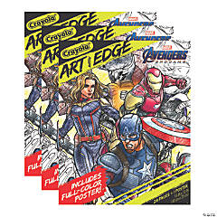 Crayola Art with Edge, Marvel Avengers Infinity Wars Coloring Pages & Poster, 3 Packs