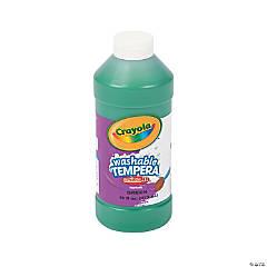 Crayola® Artista II Washable Green Tempera Paint - 16 oz.