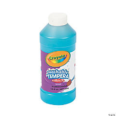 Crayola® Artista II Washable Turquoise Tempera Paint - 16 oz.
