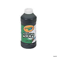 Crayola® Black Acrylic Paint - 16 oz.