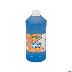 Crayola® Blue Washable Fingerpaint - 32 oz.