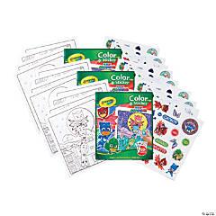 Crayola Color & Sticker Book, PJ Masks, Pack of 3