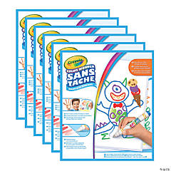 Crayola Color Wonder Mess Free Blank Paper Pad, 30 Pages, Pack of 6