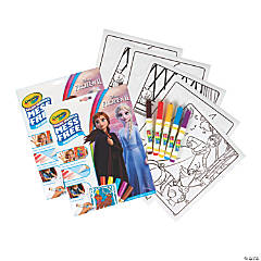 Crayola Color Wonder Mess Free Coloring Pad & Markers, Frozen 2, 2 Sets