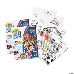 Crayola Color Wonder Mess Free Coloring Pad & Markers, Paw Patrol, 2 Sets