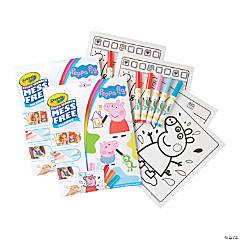 Crayola Color Wonder Mess Free Coloring Pad & Markers, Peppa Pig, 2 Sets
