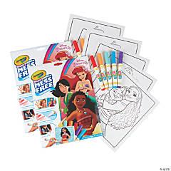 Crayola Color Wonder Mess Free Coloring Pad & Markers, Princess, 2 Sets