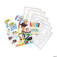 Crayola Color Wonder Mess Free Coloring Pad & Markers, Toy Story 4, 2 Sets