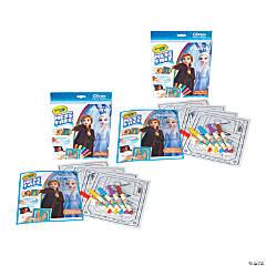 Crayola Color Wonder Mess Free Frozen 2 Glitter Effects Set, 2 Sets