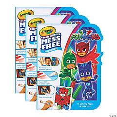 Crayola Color Wonder Mess Free On the Go, PJ Masks, 3 Sets