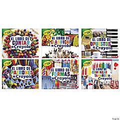 Crayola ® Concepts Books, Spanish, Set of 6