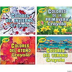 Crayola ® Seasons Books, Spanish, Set of 4
