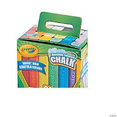 Crayola® Sidewalk Chalk Carton