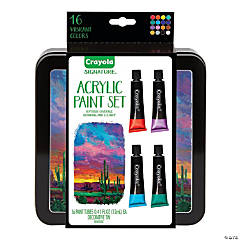 Crayola Signature™™ Assorted Colors Acrylic Paint - Set of 16