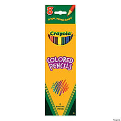 Crayola® Color Pencils - 8 pcs.