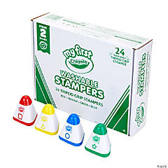 Crayola® My First Washable Tripod Grip Stampers