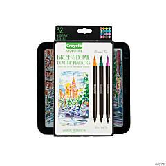Crayola® Signature™ Brush & Detail Dual-Tip Markers