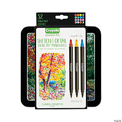 Crayola® Signature™ Sketch & Detail Dual-Tip Markers
