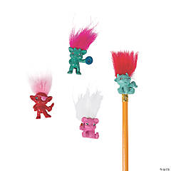 Crazy Hair Monster Pencil Toppers