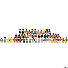 Cre8tive Minds People for Standard Bricks, Set of 50