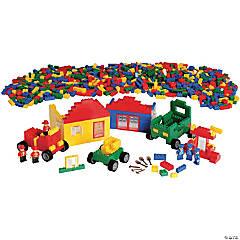 Cre8tive Minds Standard Size Community Bricks, 1500 Pieces