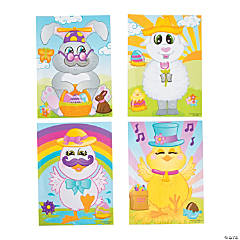 Create an Easter Character Sticker Scenes
