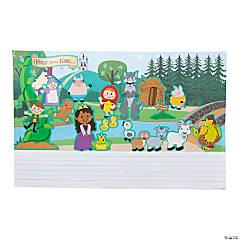 Create & Write Fairy Tale Giant Sticker Scenes