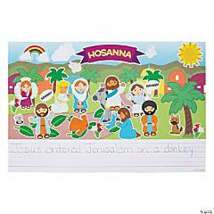 Create & Write Palm Sunday Giant Sticker Scenes