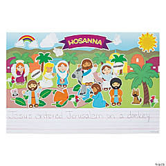 Create & Write Palm Sunday Sticker Scenes
