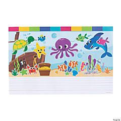 Create & Write Sea Life Sticker Scenes