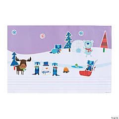 Create & Write Winter Giant Sticker Scenes