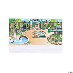 Create & Write Zoo Giant Sticker Scenes