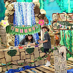 Create Your Own Treasure Hunt VBS Check-In Station Kit