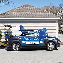 Creative Converting Blue 2021 Graduation Car Decorations Kit