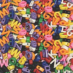 Creativity Street® Upper Case Letter Beads, 7/8