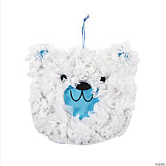 Crinkle Tissue Paper Polar Bear Craft Kit