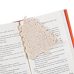 Crocheted Christmas Tree Bookmarks
