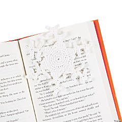 Crocheted Snowflake Bookmarks