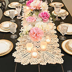 Crocheted Table Runner - 54