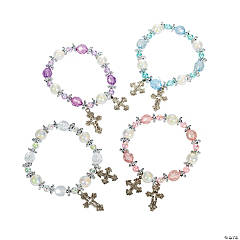 Cross Beaded Bracelet Craft Kit
