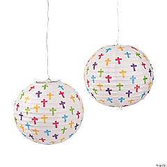 Cross Paper Lanterns