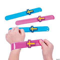Cross Slap Bracelets