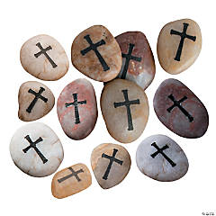 Cross Worry Stones