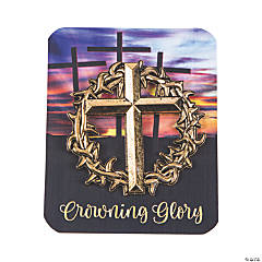 Crown of Thorns Pins with Card