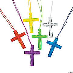 Crystal Cross Necklace Assortment