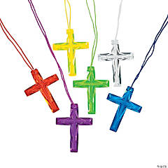 Crystal Cross Necklaces