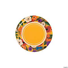 Cuban Party Paper Dessert Plates - 8 Ct.