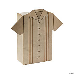 Cuban Shirt Treat Boxes